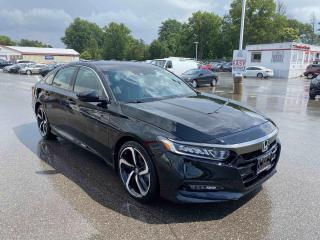Used 2019 Honda Accord Sedan Sport 4dr FWD Sedan for sale in Brantford, ON