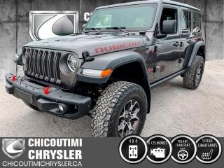Used 2018 Jeep Wrangler RUBICON 4X4 for sale in Chicoutimi, QC