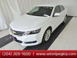 Used 2019 Chevrolet Impala LT *Bluetooth*R Cam* for sale in Winnipeg, MB