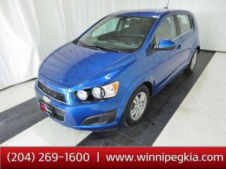 Used 2016 Chevrolet Sonic LT *Htd Seats*Bluetooth*R Cam* for sale in Winnipeg, MB