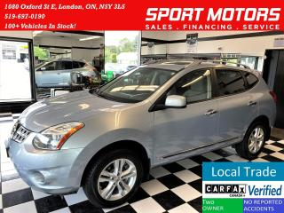 Used 2012 Nissan Rogue SV AWD+GPS+Camera+Roof+Accident Free for sale in London, ON