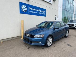 Used 2015 Volkswagen Jetta Sedan 1.8T COMFORTLINE - SUNROOF / HEATED SEATS / VW CERTIFIED for sale in Edmonton, AB