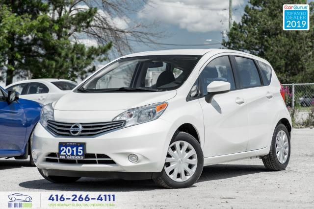 2015 Nissan Versa Note SV|Clean Carfax|Low Kms|