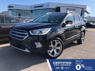 Used 2017 Ford Escape Titanium 4WD | Sony Audio | Touchscreen Navigation for sale in Winnipeg, MB