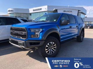 Used 2019 Ford F-150 Raptor 4x4 Crew Cab | Paint to Match Bed Cap | Nav for sale in Winnipeg, MB