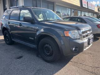 Used 2008 Ford Escape Limited, LEATHER, 3 YR WARRANTY, CERTIFIED for sale in Woodbridge, ON