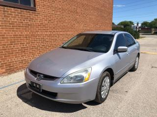Used 2003 Honda Accord LX for sale in Oakville, ON