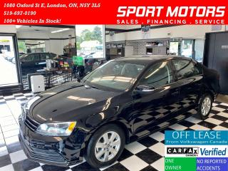 Used 2016 Volkswagen Jetta Trendline+Camera+Apple Carplay+Accident Free for sale in London, ON