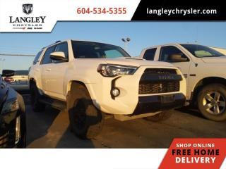 Used 2018 Toyota 4Runner SR5  Backup Camera / Leather / Sunroof / Hitch for sale in Surrey, BC