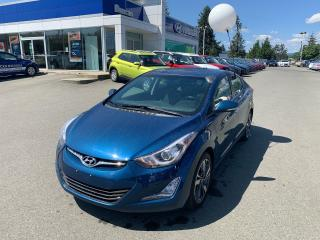 Used 2014 Hyundai Elantra Limited for sale in Duncan, BC