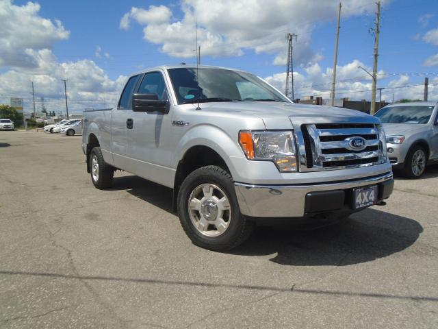 "2012 Ford F-150 4WD SuperCab 145"" XLT LOW KM SAFETY B-TOOTH TOW"