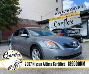Used 2007 Nissan Altima 3.5 SE for sale in London, ON