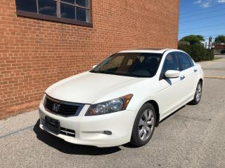 Used 2009 Honda Accord EX-L/LEATHER SUNROOF for sale in Oakville, ON