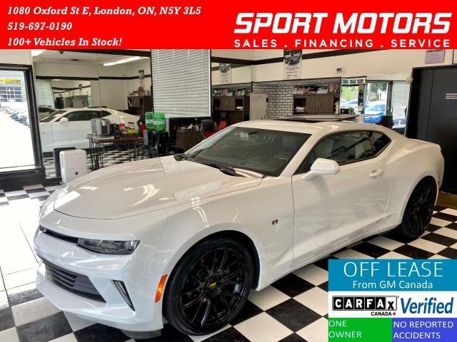 2018 Chevrolet Camaro 2LT+Two Tone Leather+TechPkg+NewTires+AccidentFree