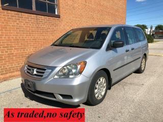 Used 2010 Honda Odyssey DX /7 PASSENGERS for sale in Oakville, ON