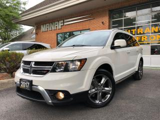 Used 2017 Dodge Journey Crossroad 3rd row AWD Navi Sunroof Certified* for sale in Concord, ON