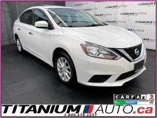 Used 2017 Nissan Sentra SV+Camera+Sunroof+Heated Seats+BlueTooth+Push Star for sale in London, ON