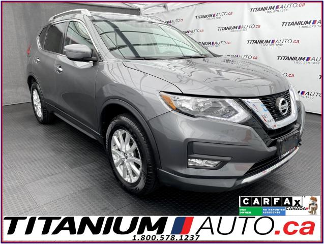 2017 Nissan Rogue SV+AWD+Camera+Pano Roof+Remote Start+Heated Seats