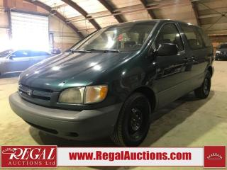 Used 1998 Toyota Sienna CE 4D WAGON for sale in Calgary, AB