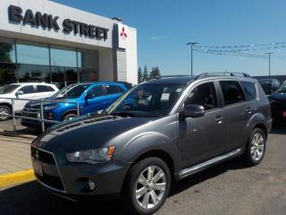 Used 2012 Mitsubishi Outlander GT xls Trim(fully loaded) for sale in Gloucester, ON