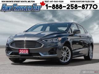 Used 2019 Ford Fusion Hybrid SEL   HYBRID   LEATHER   SUN   BLIND SPOT & MORE!! for sale in Milton, ON