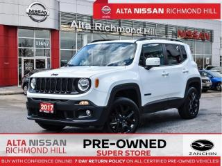 Used 2017 Jeep Renegade North 4X4   Remote Start   Fogs   17 Alloy   AC for sale in Richmond Hill, ON