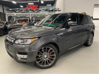 Used 2016 Land Rover Range Rover Sport V8 SC DYNAMIC I COMING SOON I NAV I 22 INCH WHEEL for sale in Vaughan, ON