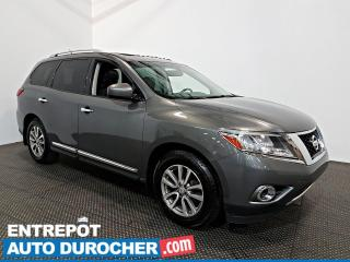 Used 2016 Nissan Pathfinder AWD NAVIGATION - Toit Ouvrant - 7 Passagers for sale in Laval, QC