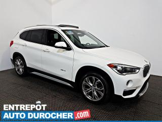Used 2016 BMW X1 XDrive28i AWD NAVIGATION - Toit Ouvrant - A/C - for sale in Laval, QC