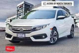 Used 2016 Honda Civic Sedan EX-T CVT HS No Accident| Remote Start| Apple for sale in Thornhill, ON