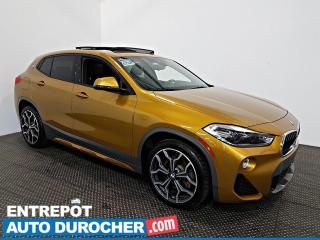 Used 2018 BMW X2 XDrive28i AWD NAVIGATION - Toit Ouvrant - A/C Cuir for sale in Laval, QC