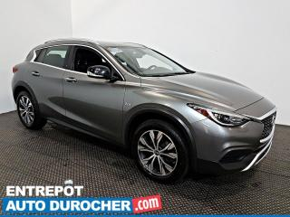 Used 2017 Infiniti QX30 AWD AIR CLIMATISÉ - Caméra de Recul - Cuir for sale in Laval, QC