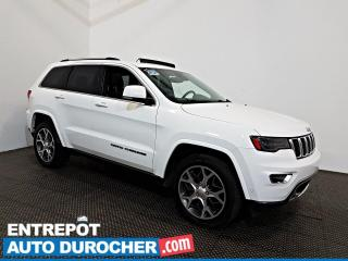 Used 2018 Jeep Grand Cherokee Sterling Edition AWD NAVIGATION - Toit Ouvrant A/C for sale in Laval, QC