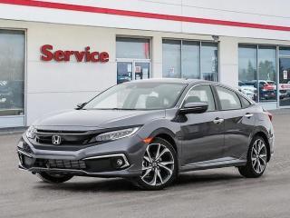 New 2020 Honda Civic Sedan Touring CVT for sale in Brandon, MB