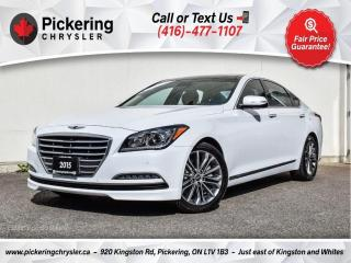 Used 2015 Hyundai Genesis Luxury - NAV/Pano Roof/Leather/Heated Seats/AWD for sale in Pickering, ON