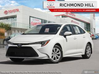 New 2020 Toyota Corolla COROLLA LE CVT for sale in Richmond Hill, ON