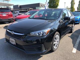 New 2020 Subaru Impreza CONVENIENCE for sale in Port Coquitlam, BC