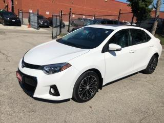 Used 2015 Toyota Corolla S for sale in Mississauga, ON