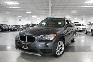 Used 2014 BMW X1 xDRIVE 28i NO ACCIDENTS I PANOROOF I HEATED SEATS I LEATHER for sale in Mississauga, ON