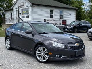 Used 2014 Chevrolet Cruze No Accidents LTZ RS Leather Navi Backup Cam Sunroof for sale in Sutton, ON