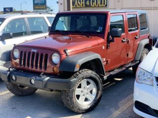 Used 2007 Jeep Wrangler 4WD 4dr Unlimited X for sale in Brampton, ON