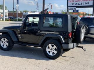Used 2009 Jeep Wrangler 4WD 2DR X for sale in Brampton, ON