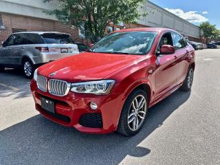 Used 2016 BMW X4 AWD 4dr xDrive35i, M SPORT, NAVIGATION, NO ACCIDENT for sale in North York, ON