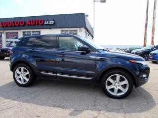 Used 2014 Land Rover Evoque Pure Plus AWD Panoramic Sunroof Camera Certified for sale in Milton, ON