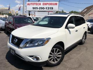 Used 2016 Nissan Pathfinder SL AWD TECH Navigation/Sunroof/Camera for sale in Mississauga, ON