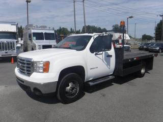 Used 2010 GMC Sierra 3500 HD 11.5 Foot Flat Deck 2WD for sale in Burnaby, BC