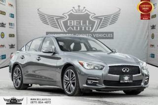Used 2015 Infiniti Q50 LIMITED, NO ACCIDENT, V6, NAVI, REAR CAM, SUNROOF for sale in Toronto, ON