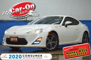 Used 2015 Scion FR-S AUTO NAV BLUETOOTH ALLOYS LOADED for sale in Ottawa, ON