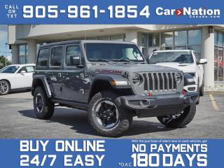 Used 2020 Jeep Wrangler Unlimited Rubicon| 4X4| DUAL TOP| LEATHER| NAVI| for sale in Burlington, ON
