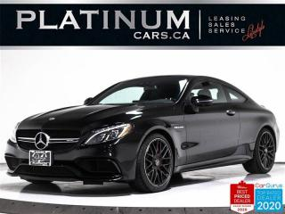 Used 2018 Mercedes-Benz C-Class AMG C63 S, 503HP, COUPE, NAV, PANO, CAM, CARBON for sale in Toronto, ON
